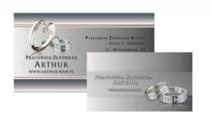 Arthur Business Cards