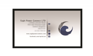 Eagle Power Connect business cards