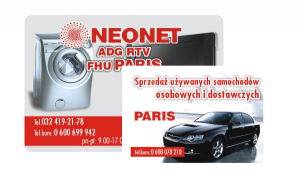 Paris Business Cards