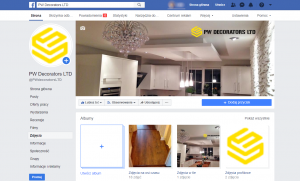 PW Decorators Social Media