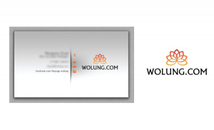 Wolung Logotype and Business Cards